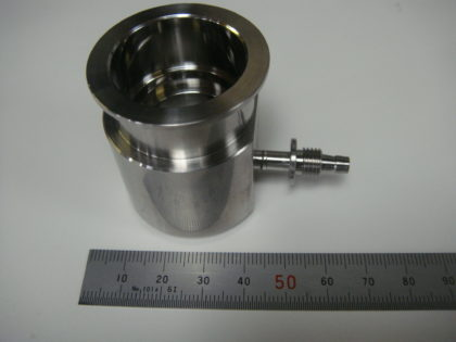 医療用器具のレーザー溶接